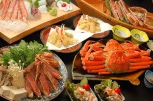蟹フルコース