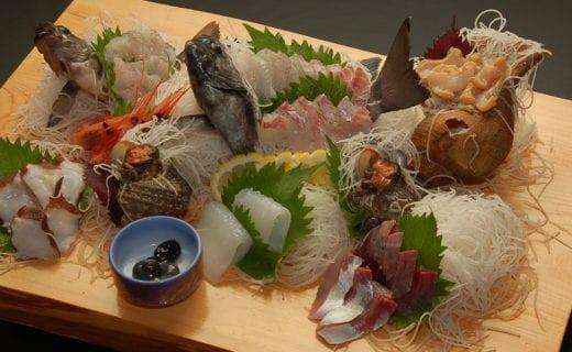 鮮魚の刺身